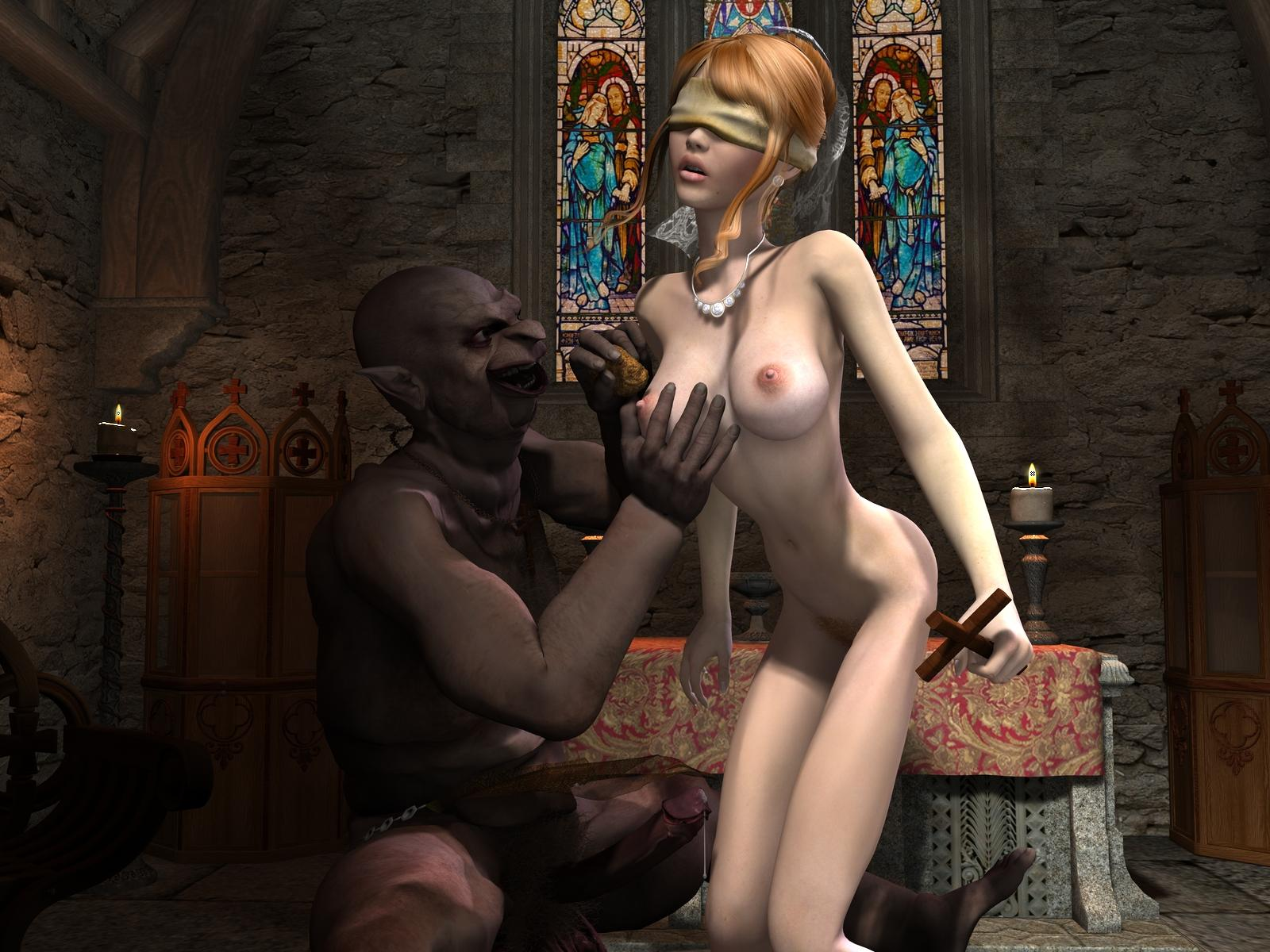 3d goblin priest fucks girl pics exposed scene