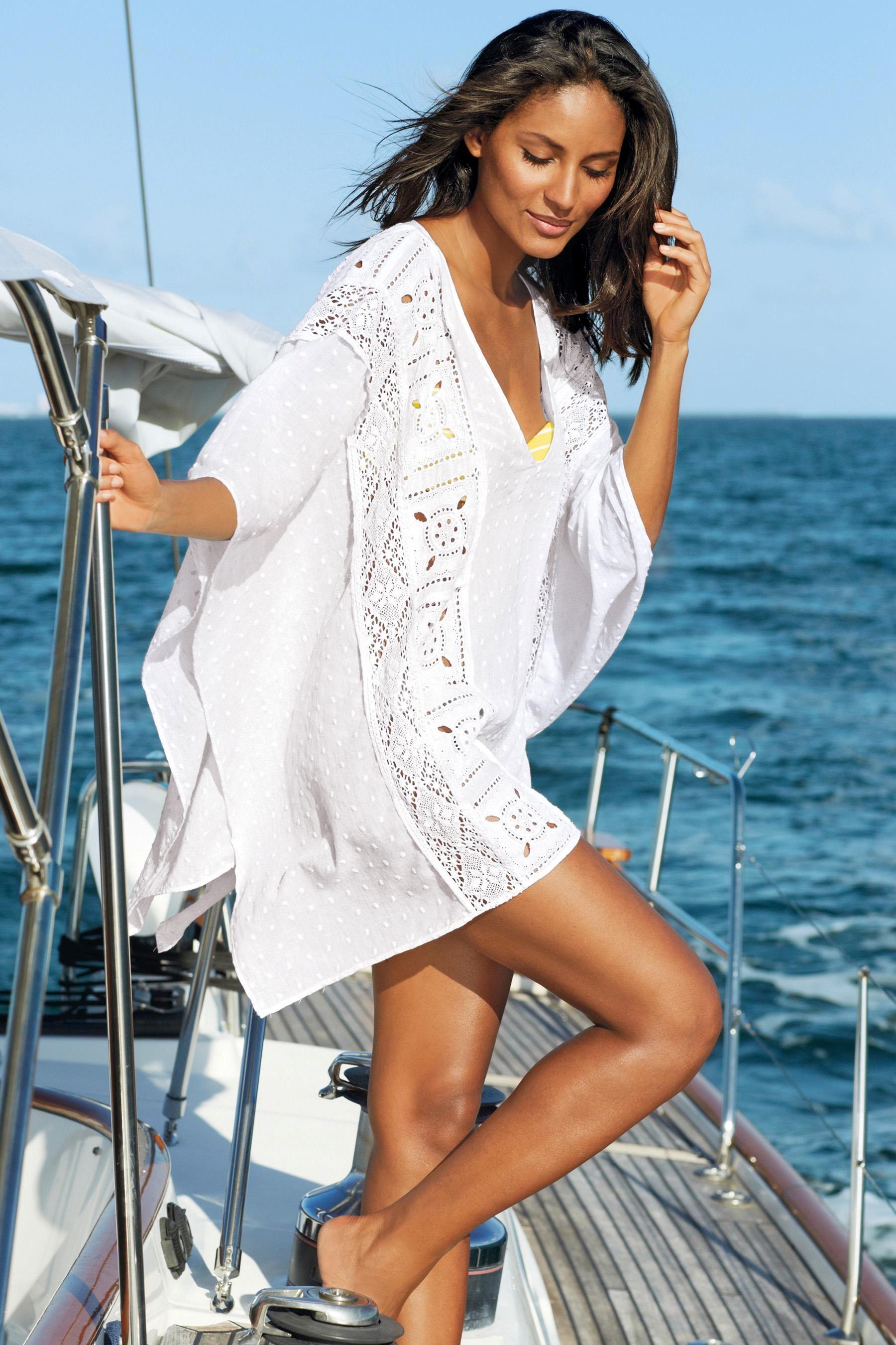 Женские рубашки для пляжа фото