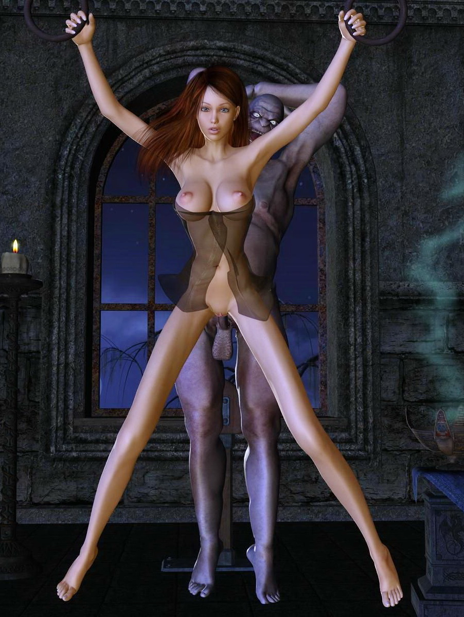 Free 3d monster hentie sexual slave
