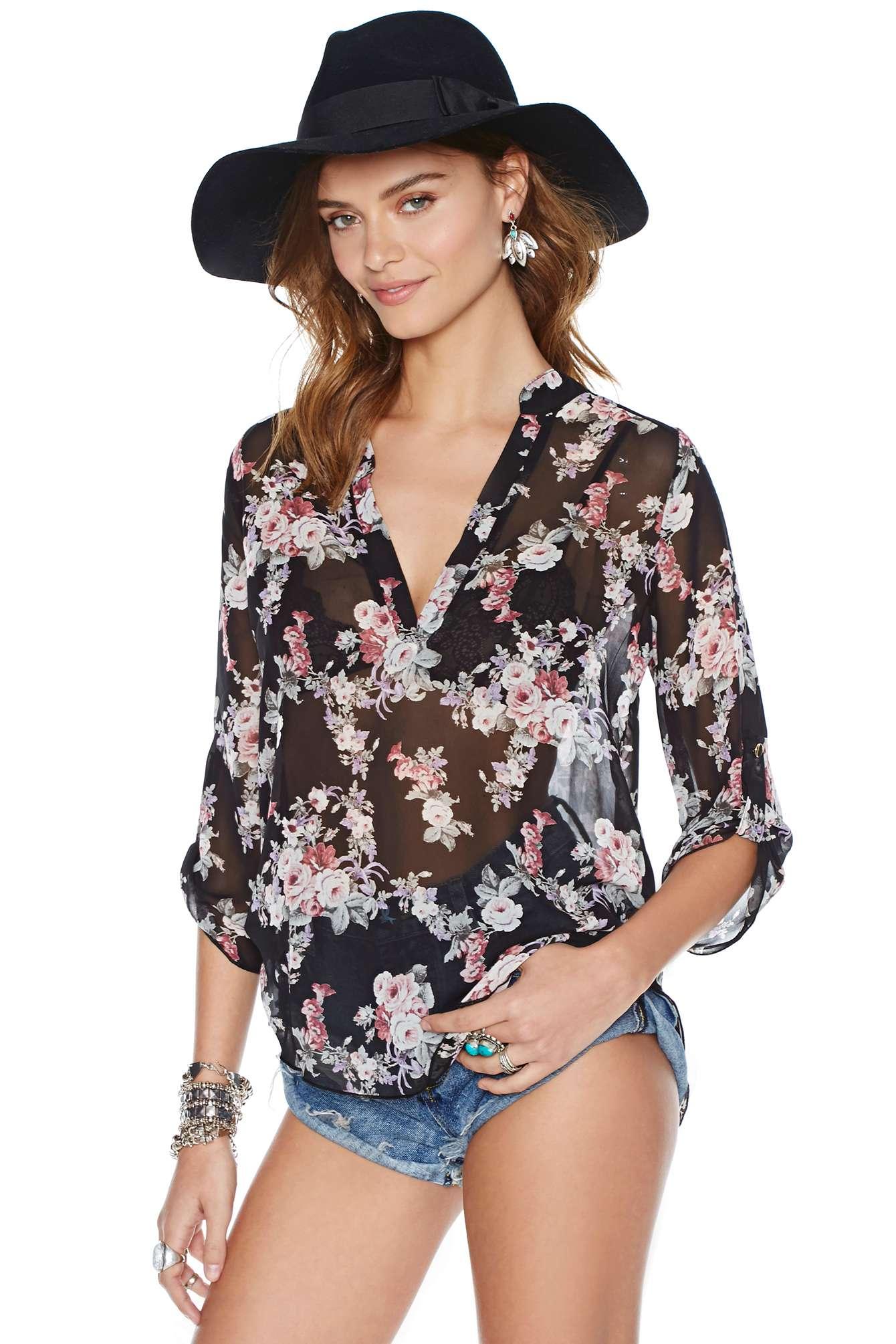 Блузка Из Шифона 2015