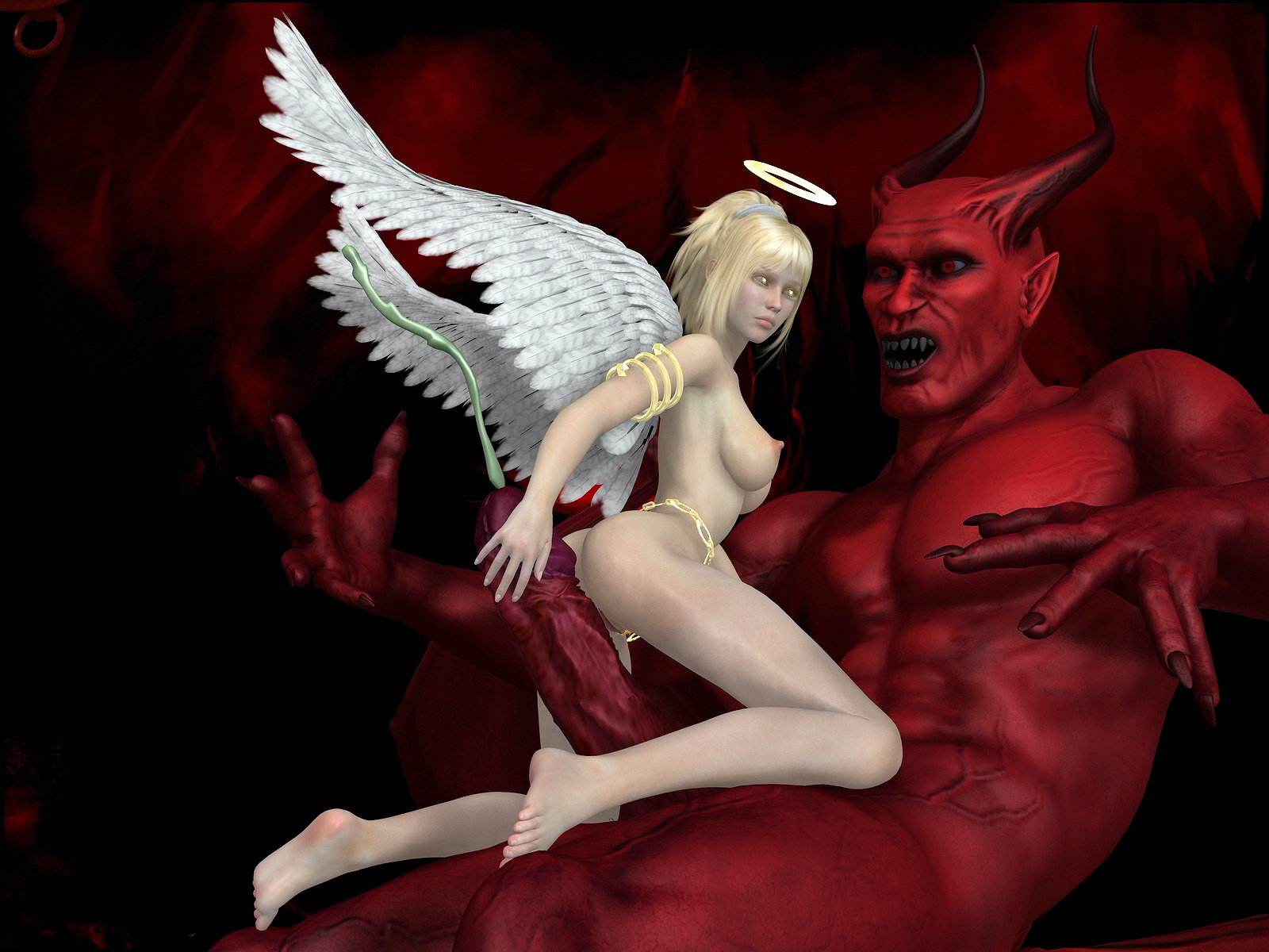 Demons and angels nude porn tube