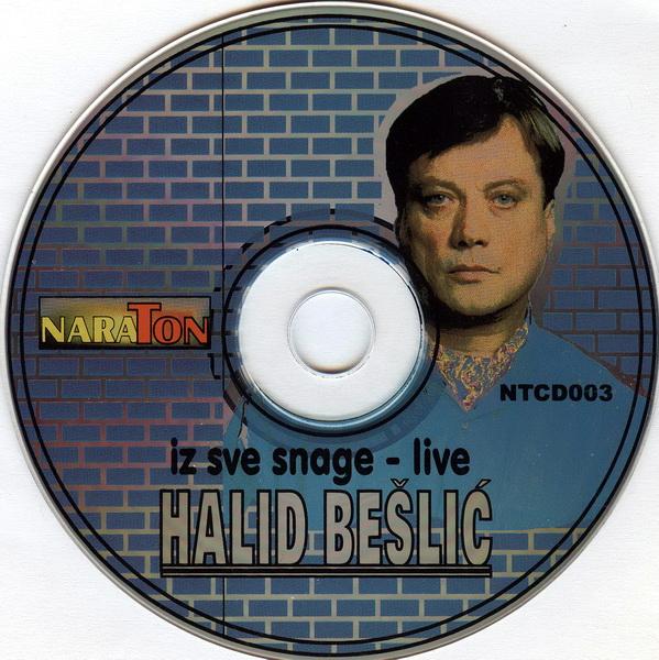 Halid Beli Iz Sve Snage Live CD